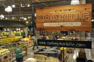 Charlotte Sharon Road Whole Foods Grand Opening