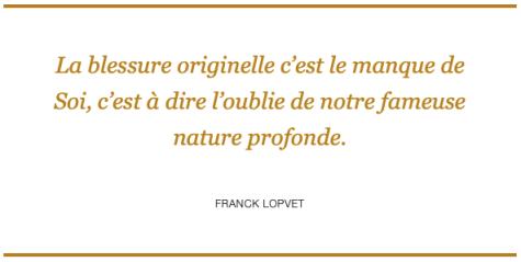 Franck Lopvet - Égoïsme Positif