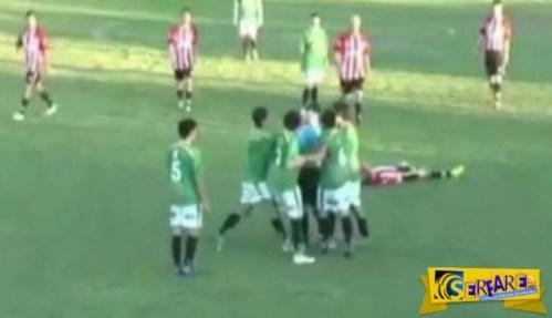Βίντεο ΣΟΚ! Διαιτητής δείχνει σε ποδοσφαιριστή κίτρινη κάρτα! Δεν φαντάζεστε όμως τι ακολούθησε…