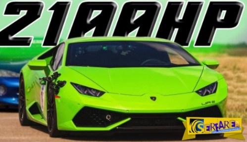 Η Lamborghini Huracan «βρυχάται» στα 2.100 άλογα!