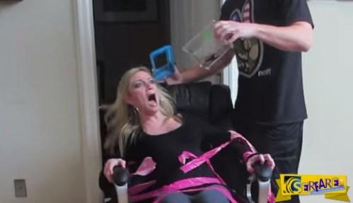 Θα πέθαινε από την ΤΡΟΜΑΡΑ της! Δείτε τι της έκανε το αγόρι της και έλαιγε όλη την ώρα!