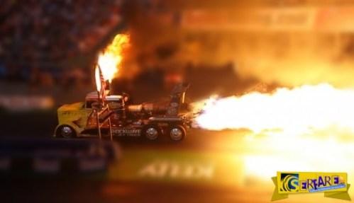 Το Jet Engine φορτηγό που έκαψε ακόμα και την άσφαλτο!