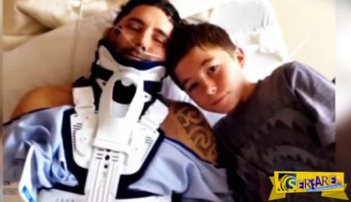 Όταν ο πατέρας του τραυματίστηκε σοβαρά από έναν ογκόλιθο, αυτός ο μικρός πρόσκοπος έκανε κάτι ΑΔΙΑΝΟΗΤΟ!