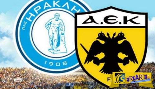 AEK – Iraklis Live Streaming