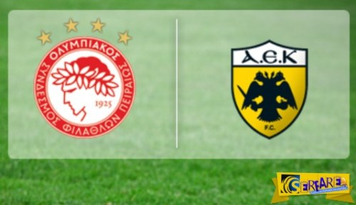 Olympiakos – AEK Live Streaming