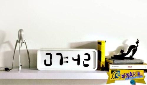 Το ρολόι που κάνει το χρόνο να κυλά στην κυριολεξία!