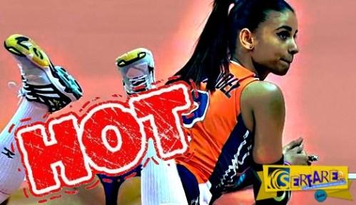 """""""Φωτιά"""" στο τάραφλεξ! Δείτε την πιο ΤΟΥΜΠΑΝΟ αθλήτρια βόλεϊ!"""