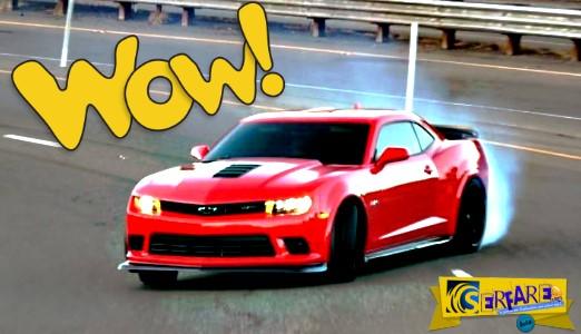 Όταν ένα muscle car αποφασίσει να drift-άρει, τα δίνει… όλα!