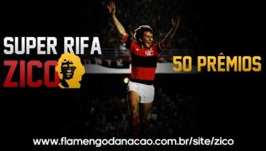 Super Rifa – Zico  Campanha de arrecadação para o placar eletrônico do  Campo da Gávea 147f3902ce440