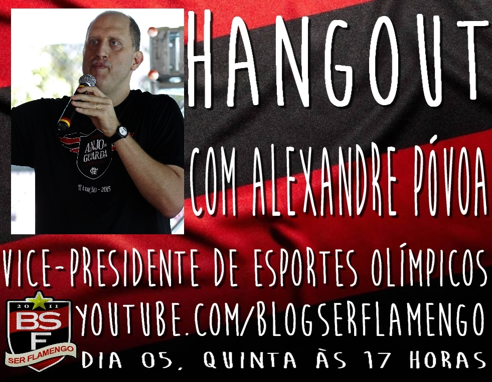 Hangout com Alexandre Póvoa