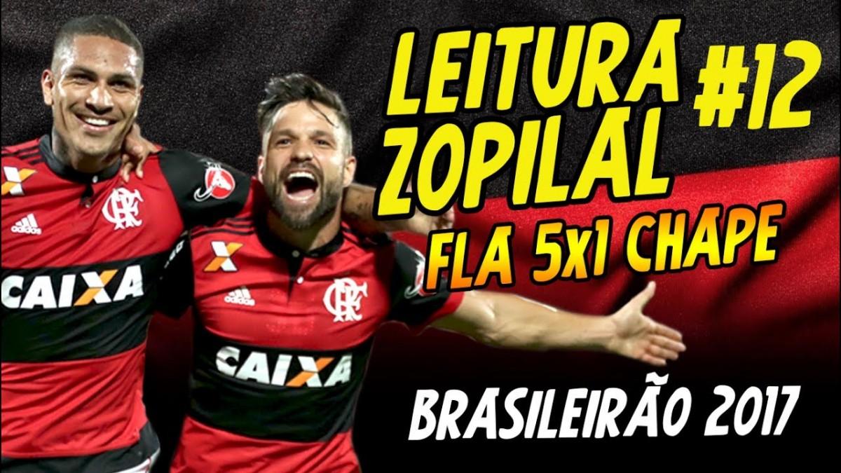 LEITURA ZOPILAL #12 - FLA 5 x 1 CHAPE