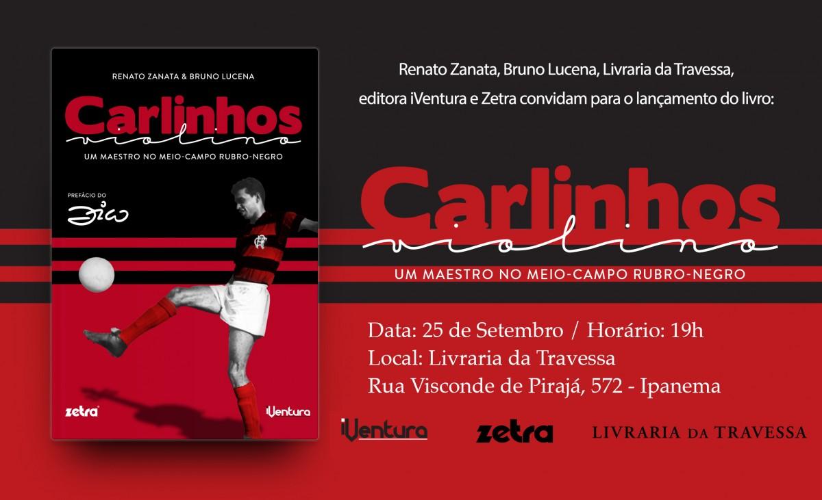 Biografia de Carlinhos será lançada nesta segunda-feira no Rio