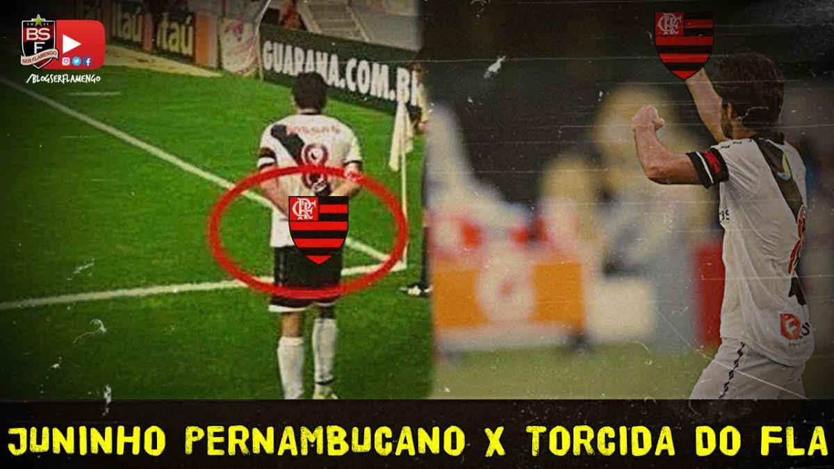 Juninho Pernambucano x Torcida do Flamengo. Quem tem razão?