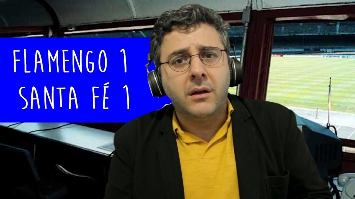 Flamengo 1 x 1 Santa Fé - Tudo que rolou
