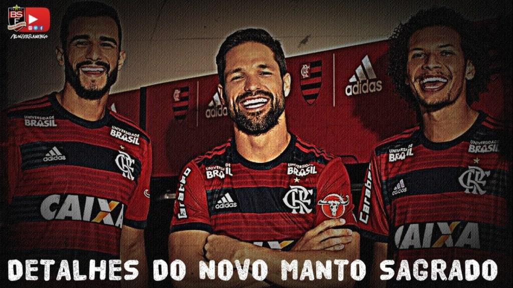 Detalhes do novo Manto Sagrado Flamengo/adidas - 2018/2019
