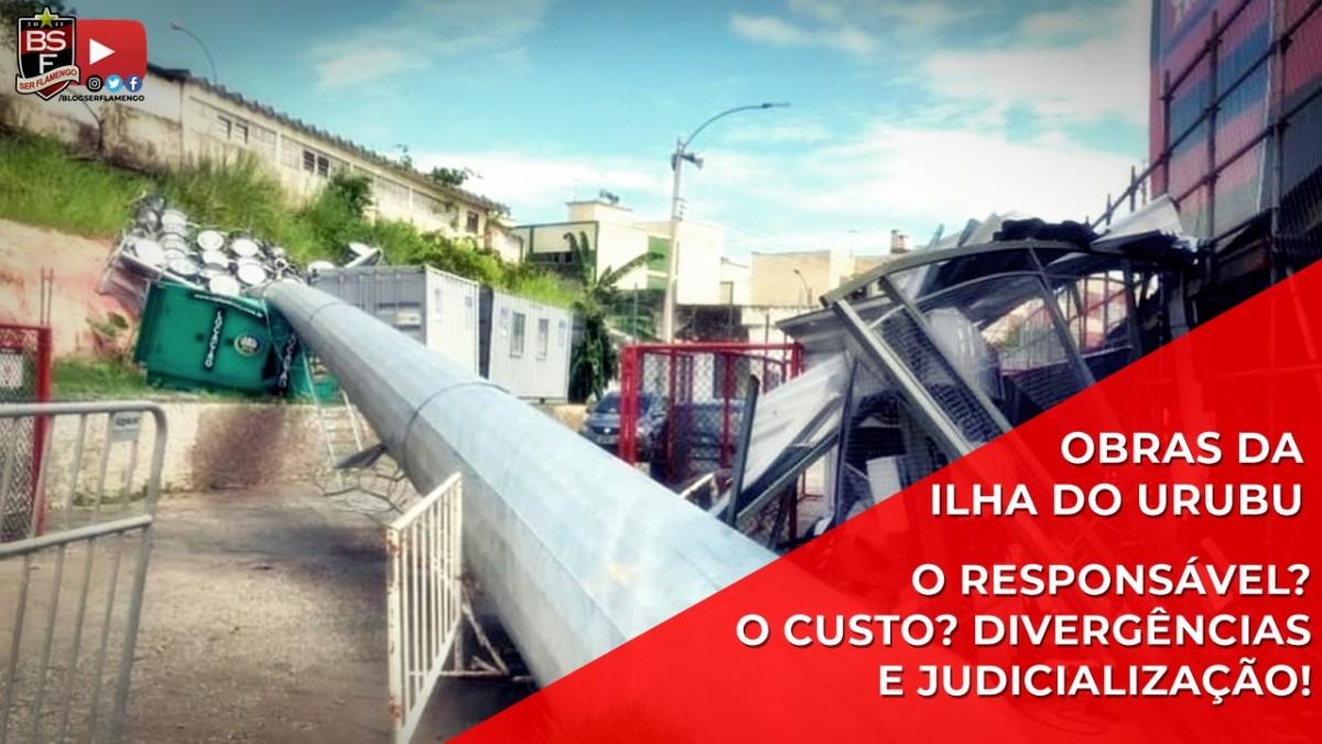 Obras da Ilha do Urubu: Quem é o responsável? Quanto custou? Divergências e judicialização. Entenda