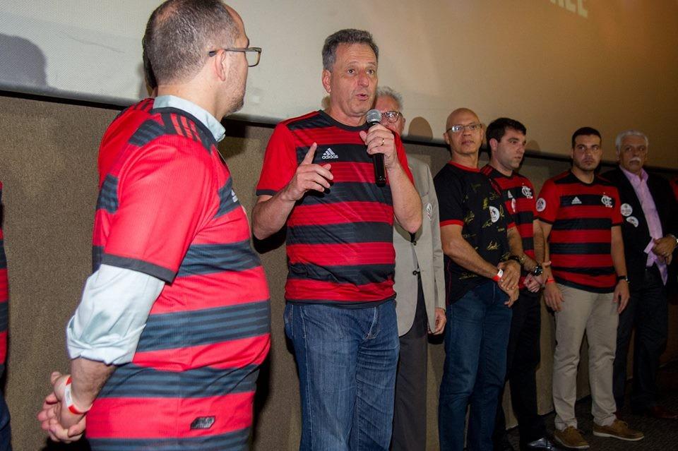 """Landim se diz animado para debate entre presidenciáveis e fala em """"compromisso com conquistas"""" no Flamengo"""