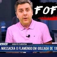FOFOX - Curintia goleia o Flamengo por 1 x 1