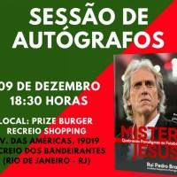 Com prefácio de Júlio César, biografia de Jorge Jesus será lançada no Rio