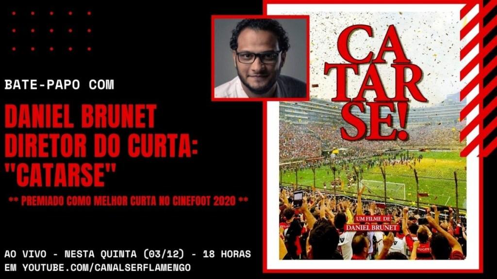 """BATE-PAPO COM DANIEL BRUNET - DIRETOR DO PREMIADO DOCUMENTÁRIO """"CATARSE"""""""