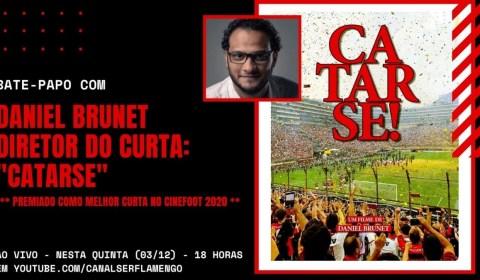 """BATE-PAPO COM DANIEL BRUNET – DIRETOR DO PREMIADO DOCUMENTÁRIO """"CATARSE"""""""