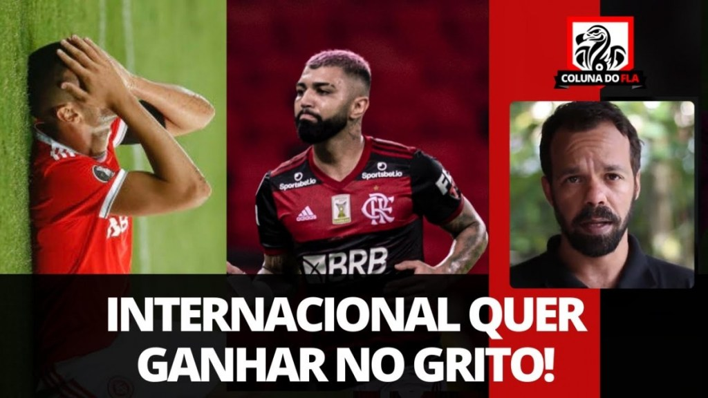 O Flamengo não pode permitir que o Inter ganhe no grito e crie narrativas sobre arbitragem