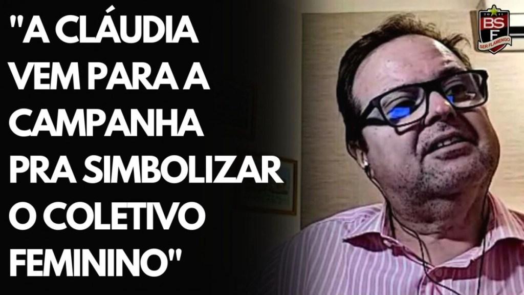 CANDIDATA A VICE-PRESIDENTE NA CHAPA PARA PRESIDENTE DO FLAMENGO I #EleiçõesFla2021