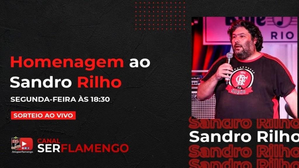 HOMENAGEM A SANDRO RILHO