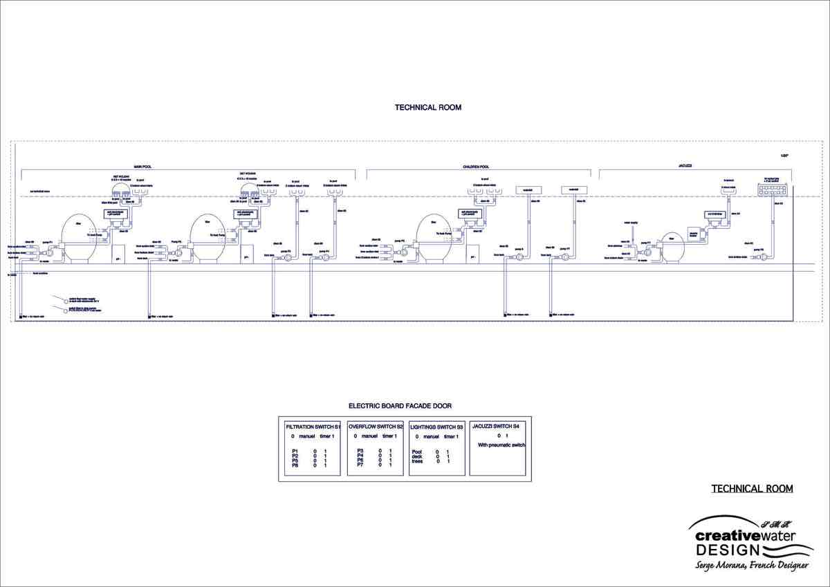 Filtration schematic Bahrain project