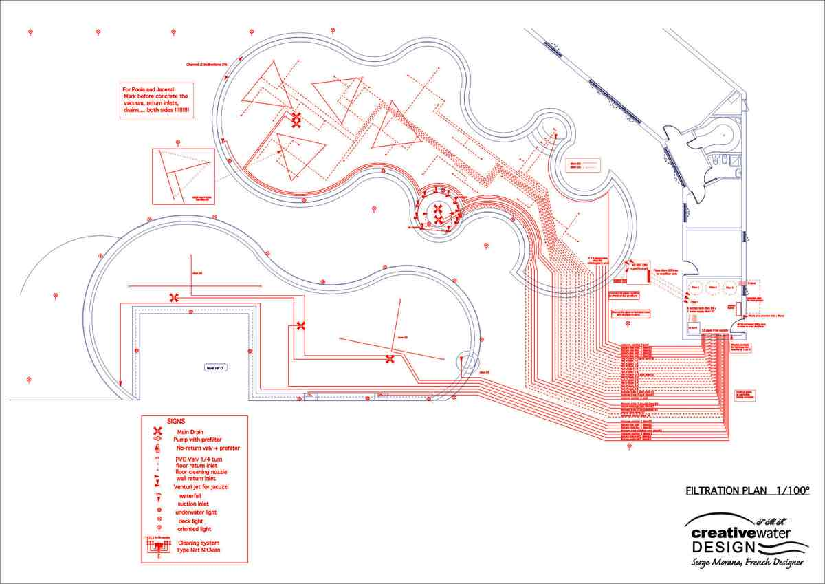 Piping layout Bahrain project