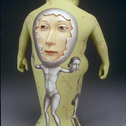 """""""Ribbit,"""" back, 2004. Collection of Museum of Fine Arts, Houston."""
