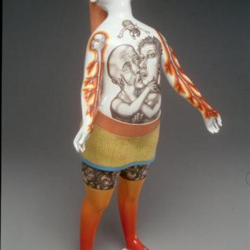 """""""Blood Tie,"""" 2003. Collection of Museum für Angewandte Kunst Frankfurt am Main."""