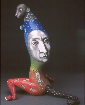 """""""Rustle,"""" 1999. Collection of the Everson Museum of Art, Syracuse, NY."""
