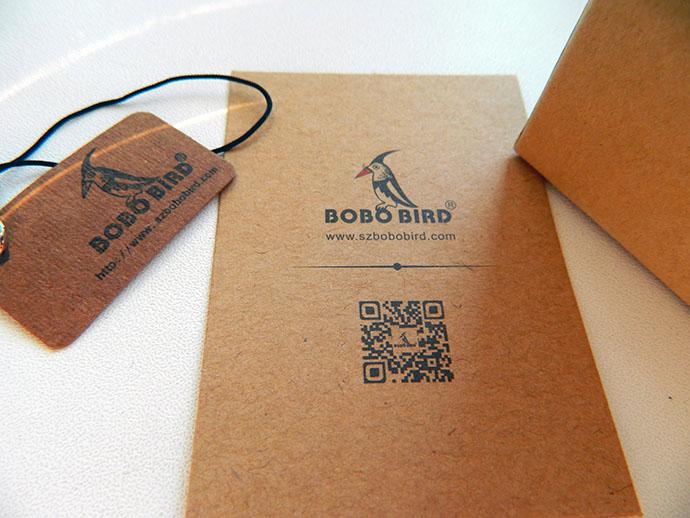 часы из бамбука bobo bird
