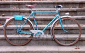Alphonse Thomann, pintamos bicicletas clásicas 8, resultado final
