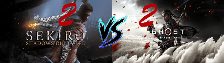 Sekiro Vs. Ghost of Tsushima 2 2