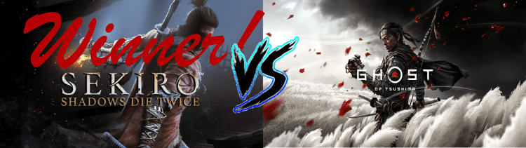 Sekiro Vs. Ghost of Tsushima Winner