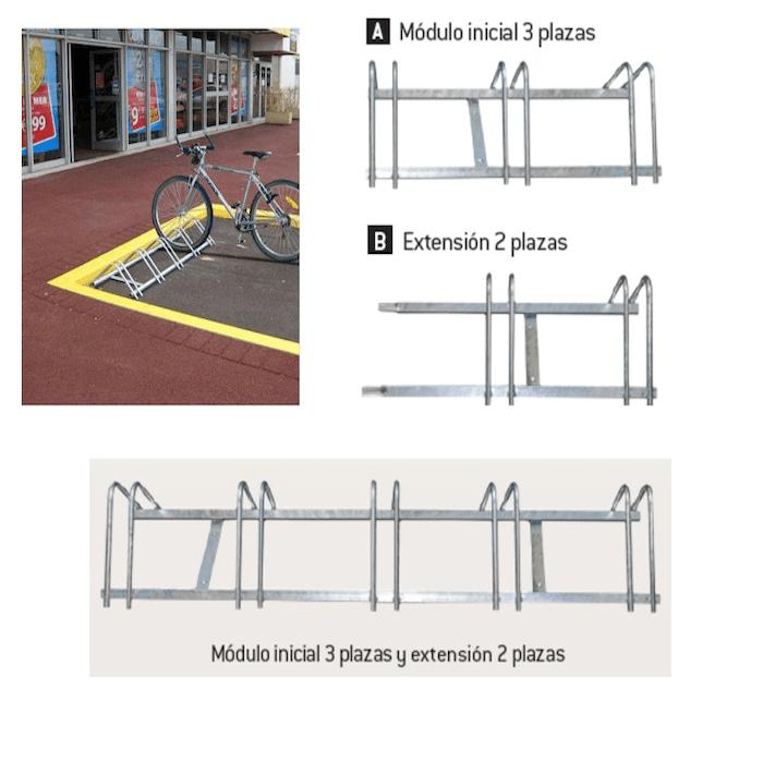 aparca bicicletas modelo infinite