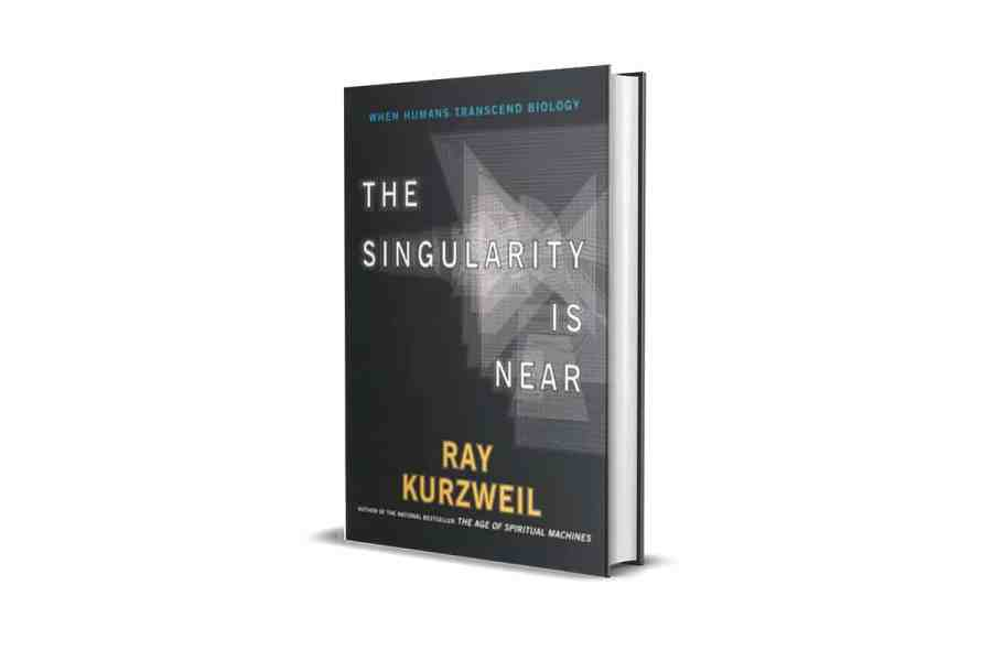 <strong>The Singularity is Near</strong> Book Cover