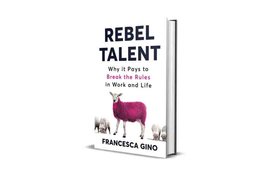 <strong>Rebel Talent</strong> Book Cover