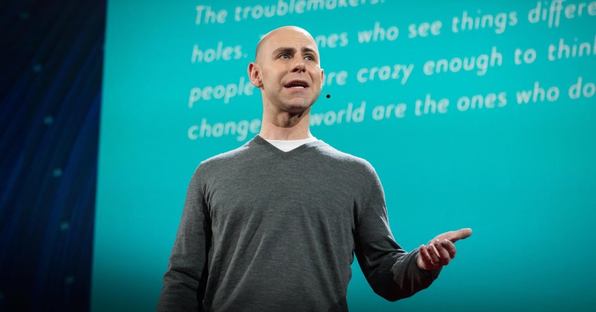 The surprising habits of Original Thinkers, by Adam Grant