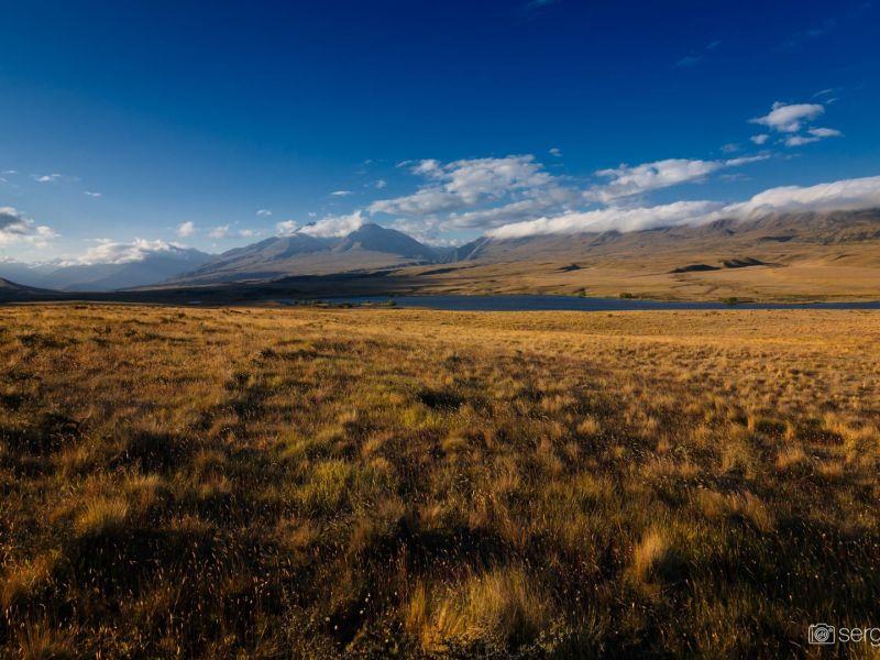 New Zealand landscapes sunset