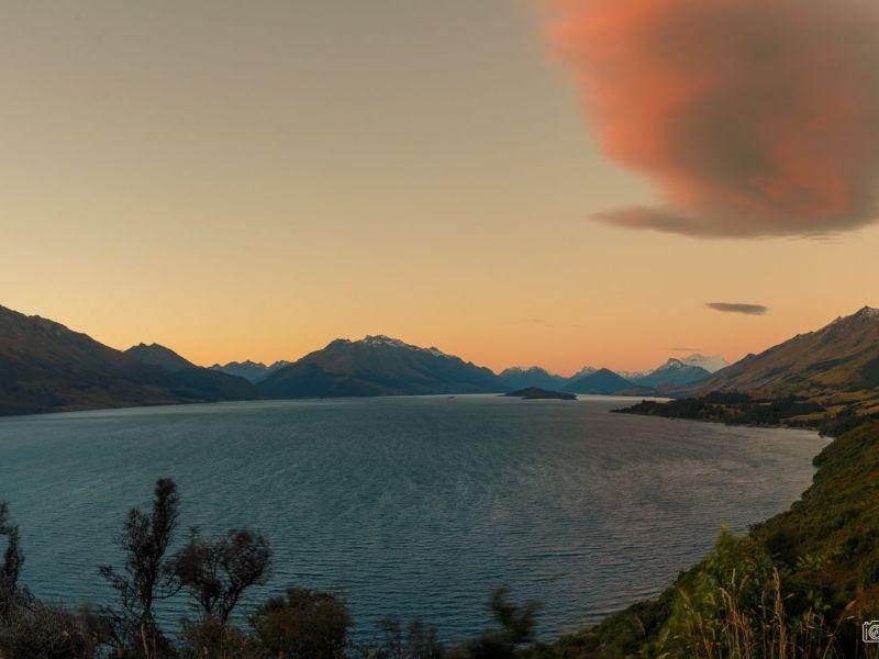 Glenorchy lake New Zealand