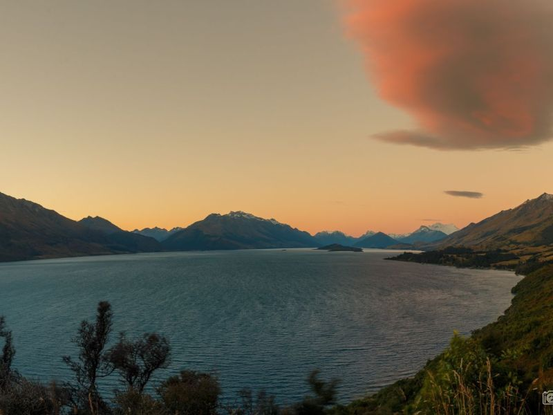 Glenorchy lake New Zealand