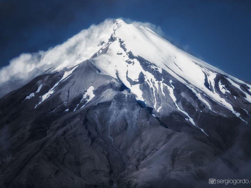 Monte Taranaki en Nueva Zelanda
