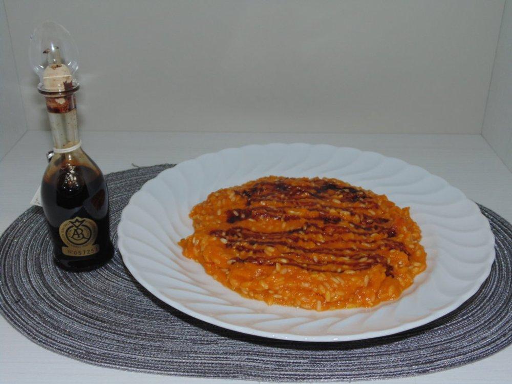 Risotto Zucca e Balsamico tradizionale di Reggio Emilia