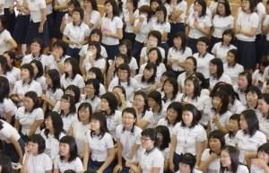 estudiantes japonesas