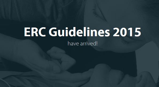 NUEVAS RECOMENDACIONES 2015 ERC - SOPORTE VITAL