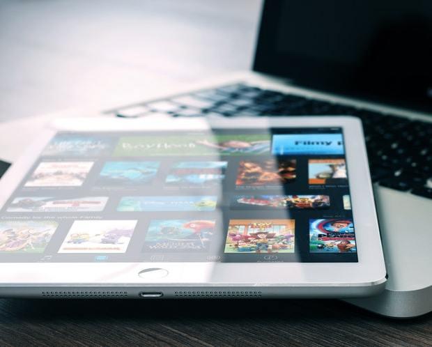 iPad and Netflix