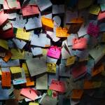 Post-it notes for multitasking